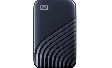 WD Passport 500GB Portable Solid State Drive - Blue