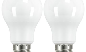 Argos Home 8W LED ES Dimmable Light Bulb - 2 Pack