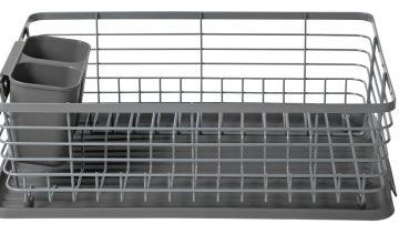 Argos Home Wire Dish Rack - Grey