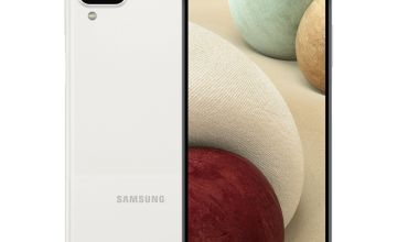 SIM Free Samsung Galaxy A12 64GB Mobile Phone - White
