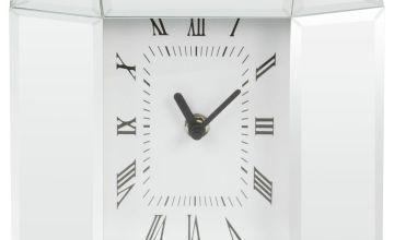 Hestia Mirrored Octagonal Clock