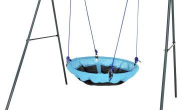 Chad Valley Kids Garden Nest Swing - Blue