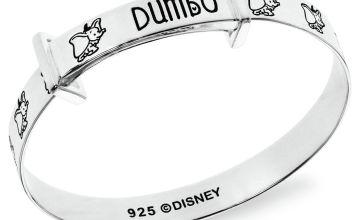 Disney Sterling Silver Dumbo Bangle - 0-18 months