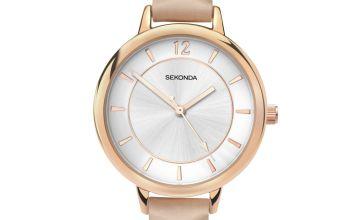 Sekonda Editions Ladies Cream Strap Watch