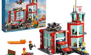 LEGO City Fire Station Building Set - 60215