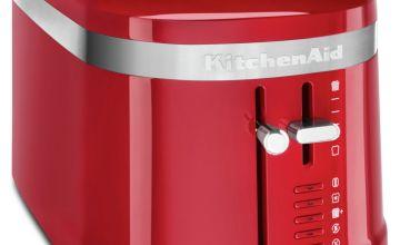 KitchenAid Design Collection 4 Slice Toaster - Empire Red
