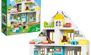 LEGO DUPLO Town Modular Playhouse 3in1 Building Set 10929