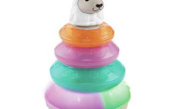 Fisher-Price Linkimals Lights & Colours Llama Stacking Toy