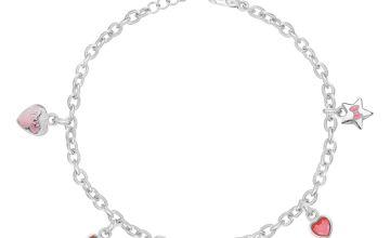 Disney Minnie Mouse Enamel Charm Bracelet