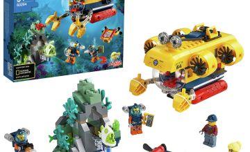 LEGO City Ocean Exploration Submarine Deep Sea Set- 60264