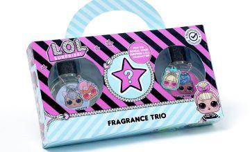 LOL Surprise Mystery Fix Fragrance Trio Set