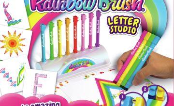John Adams Rainbow Brush Letter Studio/t