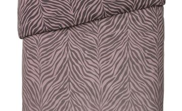 Argos Home Zebra Ombre Bedding Set
