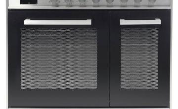 New World LOCHABER90DFSS 90cm Dual Fuel Cooker - S Steel