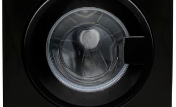 Bush WMNB812EB 8KG 1200 Spin Washing Machine - Black