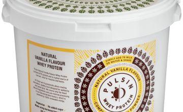 Pulsin Vegetarian Whey Protein Powder Vanilla 2.25kg