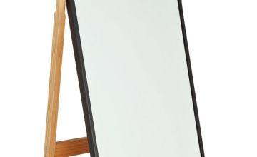 Argos Home Free Standing Cheval Mirror - Black