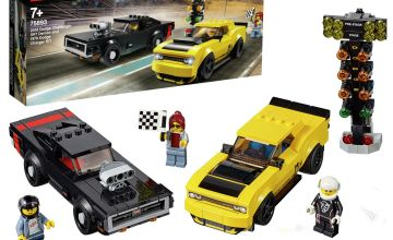 LEGO Speed Champions Dodge Toy Car Race Set - 75893