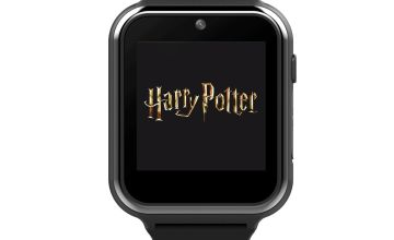 Harry Potter Black Silicone Strap Watch