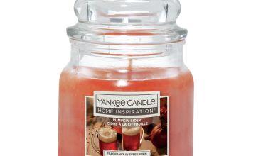 Home Inspiration Medium Jar Candle - Pumpkin Cider