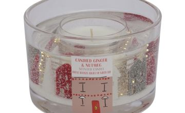 Argos Home Christmas Large Gel Candle