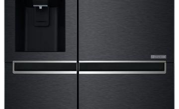 LG GSL760MCXV American Fridge Freezer - Black