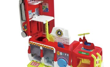 VTech Toot-Toot Friends 2-in-1 Fire Station Playset