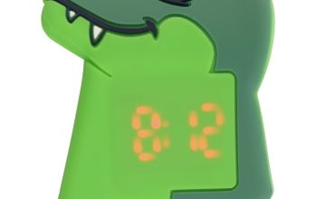 Tikkers Kid's Dino Green Plastic Strap Watch