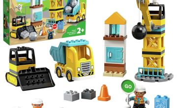 LEGO DUPLO Wrecking Ball Demolition Construction Set - 10932