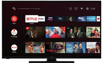 Hitachi 43 Inch Smart 4K UHD Android LED Freeview TV