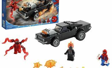 LEGO Marvel Spider-Man & Ghost Rider vs. Carnage Toy 76173