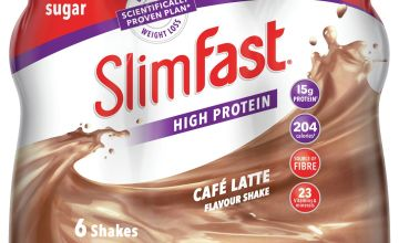 SlimFast Café Latte Ready To Drink Shakes 6x325ml