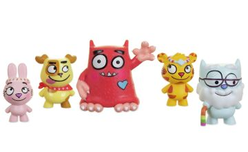 Love Monster and Fluffytown Friends Figurine Pack