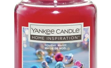 Home Inspiration Large Candle - Holiday Magic
