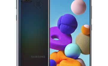 SIM Free Samsung A21s Mobile Phone - Black