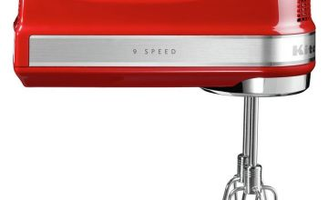 KitchenAid 5KHM9212BER Electric Hand Mixer - Empire Red