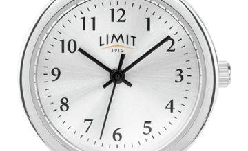 Limit Ladies Tan Faux Leather Strap Watch