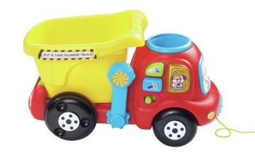 VTech Put & Take Dumper Truck Activity Toy