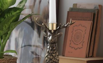 Argos Home Moorlands Stag Candle Holder