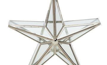 Argos Home Forest Dawn Small Star Tealight Holder