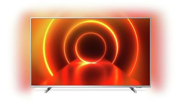 Philips 70 Inch 70PUS8105 Smart 4K Ultra HD LED TV - Silver