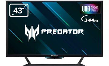 Acer Predator CG437KP 43in 4K UHD 144Hz Gaming Monitor