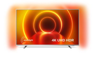 Philips 43 Inch 43PUS8105 Smart 4K Ultra HD Ambilight TV