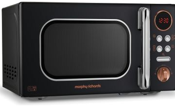 Morphy Richards 800W Standard Microwave EVO - Rose Gold
