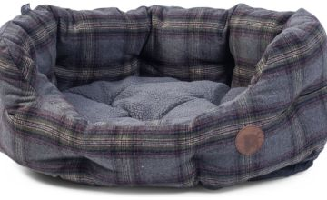 Petface Grey Tweed Pet Bed - Extra Large