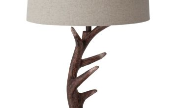 Argos Home Highland Lodge Antler Table Lamp