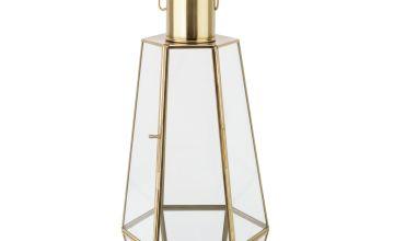 Argos Home Moorlands Large Lantern - Gold