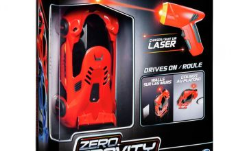 Air Hogs Zero Gravity Laser Radio Controlled Car - Red