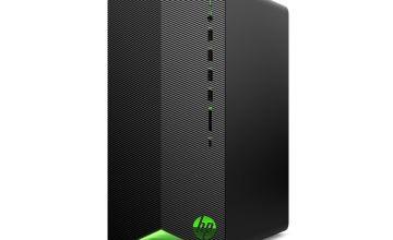 HP Pavilion i5 8GB 1TB 256GB GTX1650 Gaming PC