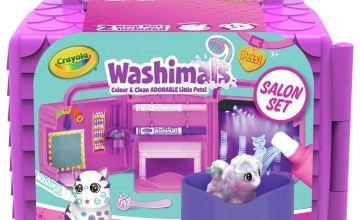 Crayola Washimals Beauty Salon Playset